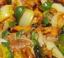Shish Kebab by Mario  Vazquez
