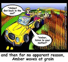 Amber Waves Of Grain..Sort of by Londons Times Cartoons by Rick  London