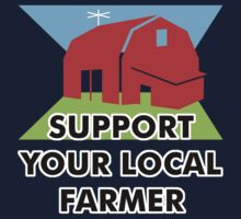 Support Your Local Farmer by evisionarts