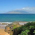Beautiful Beach & Mountains in Maui, Hawaii by elishamarie28