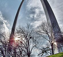 Jefferson National Expansion Memorial, St. Louis, Eero Saarinen by Crystal Clyburn