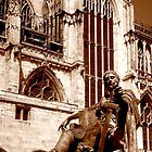 Constantine Statue outside Yorkminster by Chris Millar