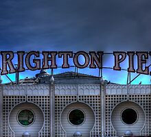 Brighton Pier II - Brighton, United Kingdom by Mark Richards