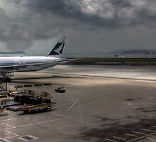Cathay Pacific II - Hong Kong Airport, Hong Kong by Mark Richards