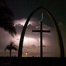 Lightning Cross by Larry  Grayam