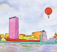 Balloon and Milwaukee by Tim Gorichanaz