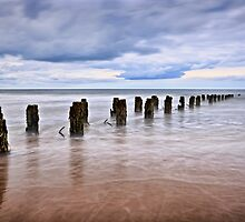 The Old Pier, North Sands, Hartlepool. UK by David Lewins
