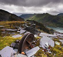 Llanberis Slate Mine by Douglas  Latham