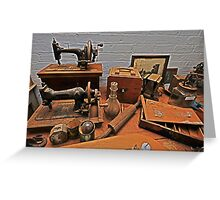 Victoriana, relics and remnants Greeting Card