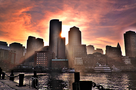 Ray of Sun, Boston, MA by LudaNayvelt