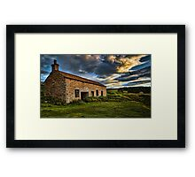 Home to Roost - Weardale. UK Framed Print
