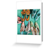 Marie's shoes Greeting Card