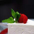 Cheese cake by Bluesrose