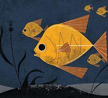 Goldfish by ujeffx