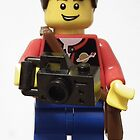 Lego Photographer by Peter Barrett