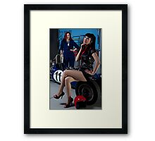 Pitstop series #1 Framed Print