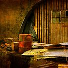 Barrel and barn by ajgosling