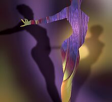 Dancer's Dream - Dreamshapes #2 by Andrea Ida Rausch