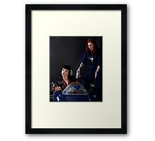 Pitstop series #3 Framed Print