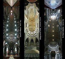 A Trio of Churches by Richard Bruneau
