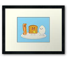 Good & Happy Breakfast Framed Print