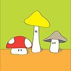 Mushroom Buddies by RocketGirl