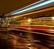 Westminster Night Bus by Ben Lowther