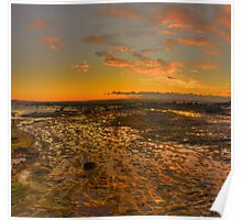 Expectations - Long Reef, Sydney (25 Exposure HDR Panorama) - The HDR Experience Poster