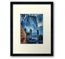 Mirrored Minneapolis Framed Print