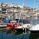 A Beautiful Day in Mevagissey by saxonfenken