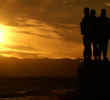 Commando Memorial by Steve Unwin