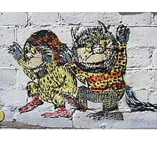 Where the Wild Things Are! Photographic Print