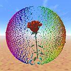 Rose in Sphere by ulybka