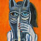 'Horseing Around' (Detail) by Thea T