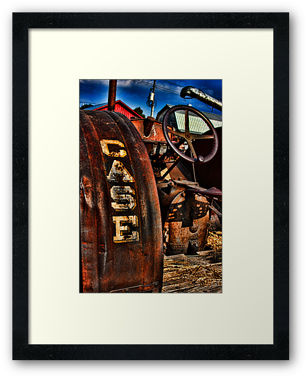 Case Antiquated Tractor by intfactory