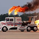 Jet Engine Truck by Joe Elliott