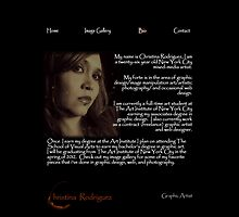 Wesbite I worked on for a school project...Bio Page by Christina Rodriguez