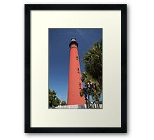 Ponce De Leon lighthouse, Florida Framed Print