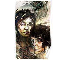 Portraits of Tegan and Sara Poster