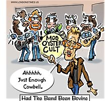 More Cowbell Please by Londons Times Cartoons by Rick  London