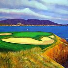 Seven at Pebble Beach by Terry Huey