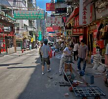 Hong Kong Back Alley by dazzleng