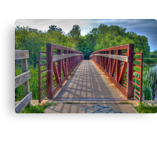 Footbridge Canvas Print