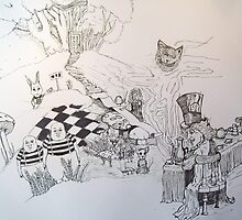 Alice in Wonderland by Anthony Chicco