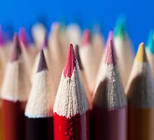 We are like colored pencils... by sandroo