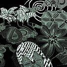 Death's Garden Inverted by Sarah Bentvelzen