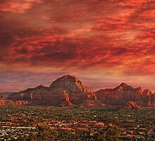 Good Night Sedona by Philippe Sainte-Laudy