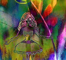 Tulip & Girl. by Vitta
