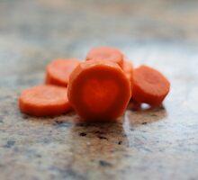 I LOVE carrots! by Justine Devereux-Old