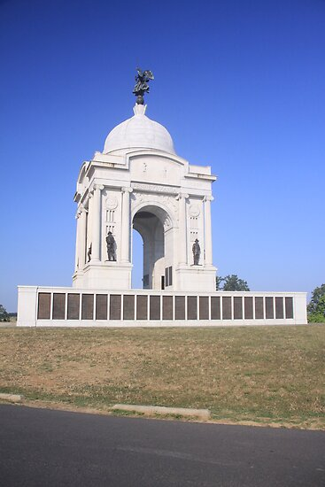 Pennsylvania Monument at Gettysburg by elisab